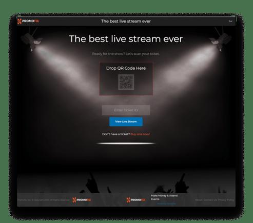 Live stream entry (2)